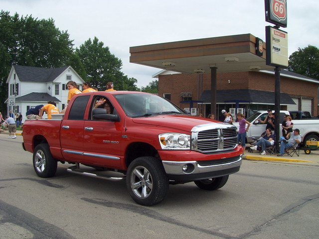 june truck freedom day indiana parade dodge ram 1500 kingman in 2011