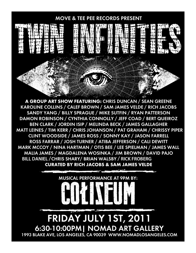 Twin Infinities Flyer