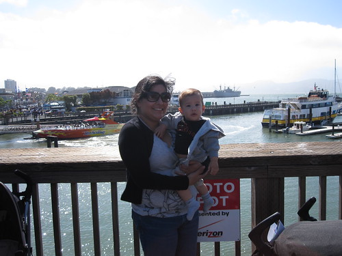me and jc at pier 39 san francisco