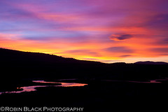 Hot Creek Sunset (Eastern Sierras) (Robin Black Photography) Tags: pink sunset red orange color silhouette intense purple ngc mammoth psychadelic sierras sierranevada hwy395 naturesbest highsierra nationalgeographic owensvalley easternsierras scurve highway395 hotcreek curvalicious singhray outdoorphotographer canon5dmarkii robinblackphotography