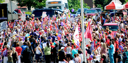 Kalieda March Crowd