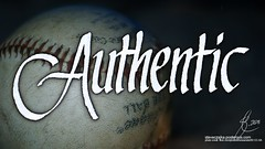 Authentic (steveczajka) Tags: original ink blog flickr baseball cc b2 pelikan calligraphy 1990s authentic authenticity italics osmiroid flickriver posterous anthonymarco