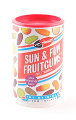 VanSlooten Sun & Fun Fruitgums Can