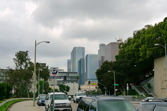 LA Downtown (mjordana) Tags: california city urban skyline la losangeles isef intelisef dmclx3