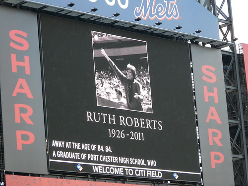 "Ruth Roberts, ""Meet The Mets"" Song Writer, Passes Away"