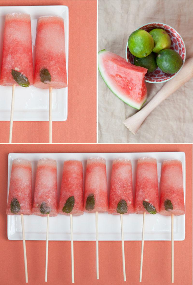 mojito-popsicles