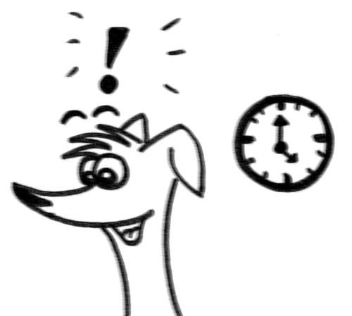 Comic-Whippet-wie-ein-Uhrwerk