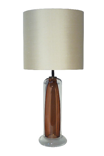 'Column - Amber' Table Lamp