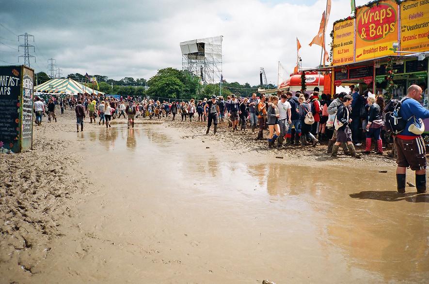 sun + mud