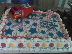 Firetruck by Cathy P