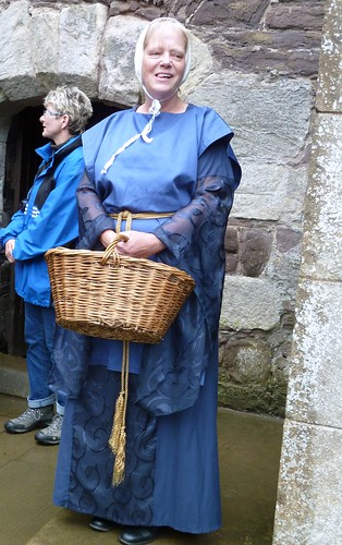 Reenactment Medieval Lady