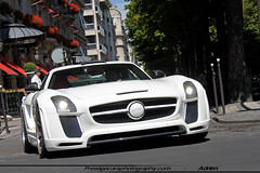 Gullstream (AK AutoMotive) Tags: fab paris mercedes benz design dubai tuning supercar sls amg exotics gullwing gullstream
