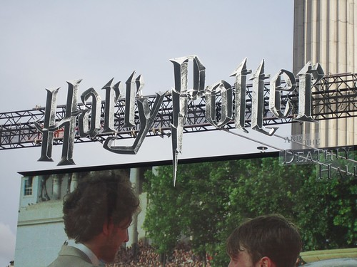 Harry Potter lettering.