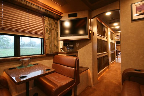 Excalibur - Rear Lounge - Booth and TV