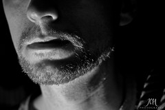 Blutbad (133/365) (Jchales.co.uk) Tags: white black project hair beard goatee groom day no flash days grooming shaving shave mens 365 trim facial groomed 133 blutbad canonef50mmf18ii