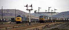 56019 Seymour Junction (delticfan) Tags: mgr coaltrain class37 class56 56019 seymourjunction