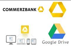 Google Drive ähnelt Commerzbank Logo
