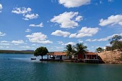 Casa de pescador a beira do Rio São Francisco