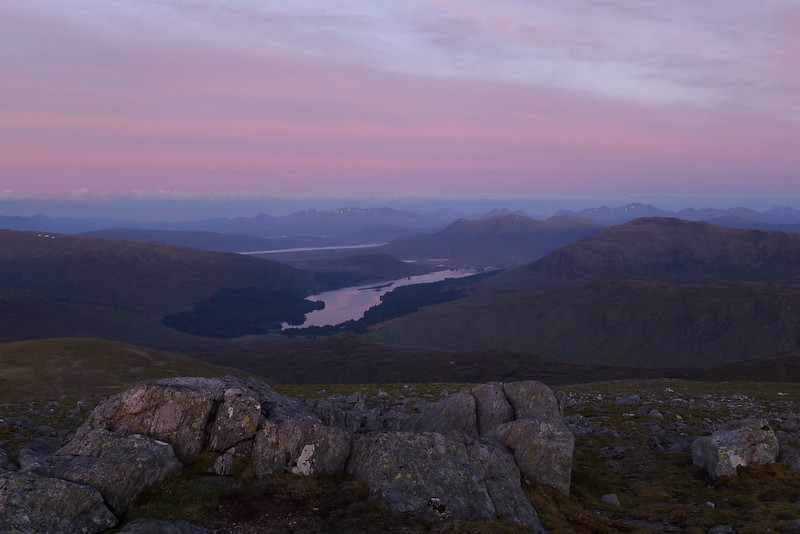 Dawn over Loch Ossian