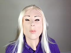 Blonde Girl Mask (rubberjohnniesmasks) Tags: fancydress stagparty femalemasks girlmask womenmask