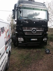 Mercedes Benz Truck (Jonathan Rolande) Tags: black truck emblem mercedes benz paint technology image creative free headlights freeimage