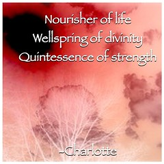 """""""Nourisher of life                          Wellspring of divinity       quintessence of strength"""" -Charlotte (charlottes333) Tags: square poem day haiku diary inspired mothers negative squareformat poet writer mothersday rhyme dictionarycom iphoneography instagramapp uploaded:by=instagram dailyhaiku"""