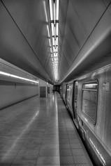 WTC Station (Rodney Campbell) Tags: nyc usa newyork monochrome subway unitedstates worldtradecenter wtc hdr