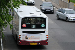 186 (Callum Colville's Lothian Buses) Tags: bus buses volvo edinburgh lothian eclips madder lothianbuses edinburghbus b7rle madderandwhite madderwhite sn13bfl