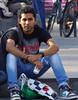 Lekkere jongen. (ЯAFIK ♋ BERLIN) Tags: city blue hot guy weather may rico jeans rest latino freitag jongen lekkere bulto chqvo
