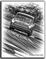 Pete Chambers Lotus Cortina Mark 1 1600 1963 (jdl1963) Tags: historic racing thruxton motorsport motor blackandwhite bw black white monochrome pete chambers lotus cortina mark 1 1600 1963 worldcars