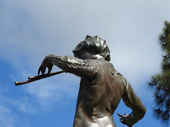 Peter Pan statue (Lesley A Butler) Tags: wa queenspark peterpan perth australia sirjmbarrie sirgeorgeframpton queensgardens