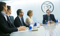 Mariano Rajoy preside la reunin del Comit de Direccin del PP (Partido Popular) Tags: pp partidopopular rajoy marianorajoy comitededireccion genova