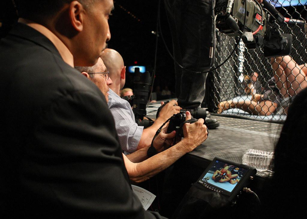 UFC 130: Judges Allowed Video Monitors