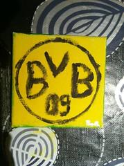 BVB 09 selbst gemalt (masterboth) Tags: 09 dortmund bvb 1909 borussia