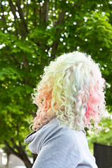 Day 196 of 365 - Year 2 (wisely-chosen) Tags: selfportrait me june rainbow blonde canon50mmf18 pinkhair bluehair platinum greenhair 2011 rainbowhair colorfulhair multicoloredhair lavenderhair naturallycurlyhair manicpanicredpassion pastelhair manicpanicflashlightning30volume manicpanicultraviolet manicpanicshockingblue manicpanicelectricbanana curlformers manicpanicpillarboxred adobephotoshopcs5extended itsa10miraclehairmask redkensmoothdownbuttertreatment onenonlyarganoiltreatment