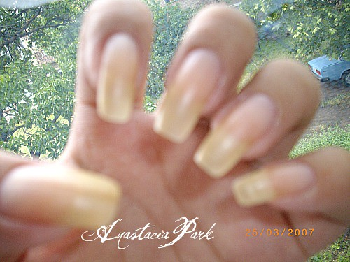 My naked nails