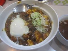 カレー麻丼@ラーメン太郎(練馬)