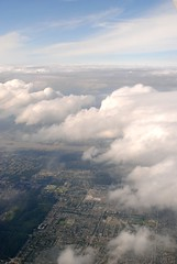 YVR (Catherine Cachia) Tags: blue sky vancouver clouds airplane flight aerial birdseyeview windowseat