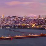 City Lights, San Francisco at Dusk