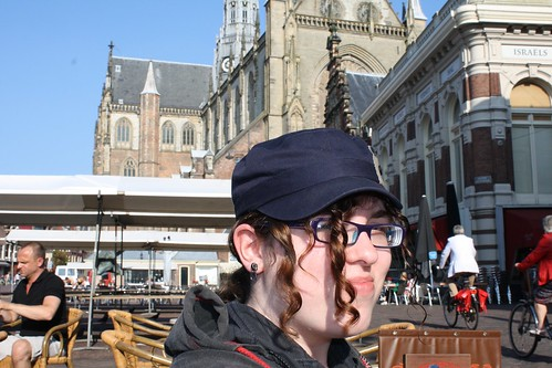 My niece in Haarlem, Netherlands