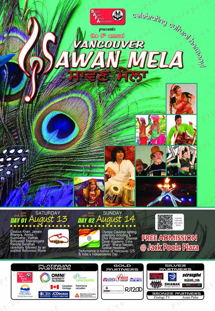 Vancouver Sawan Mela: Poster