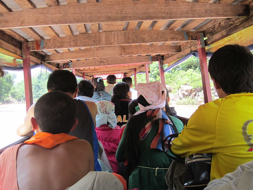 On a Lao Slow boat