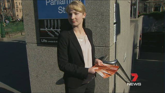 ALP's transport brochure - Still from 7 news