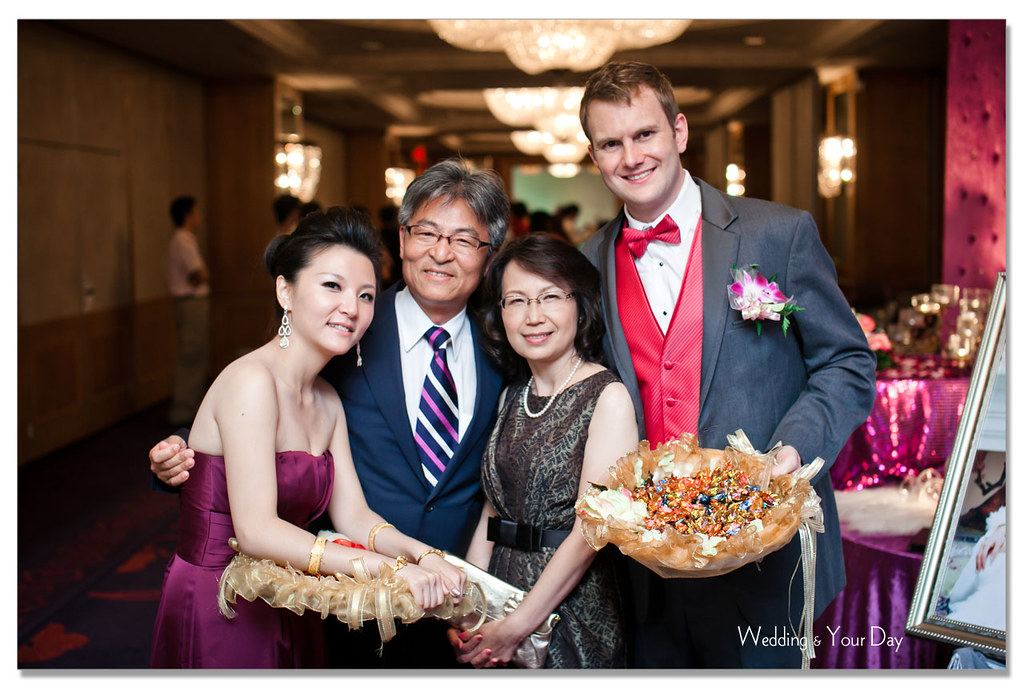 我跟外國朋友有個約 Ailing Gregory 婚宴