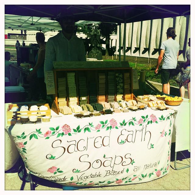 Sacred Earth at the Regina Farmers' Market