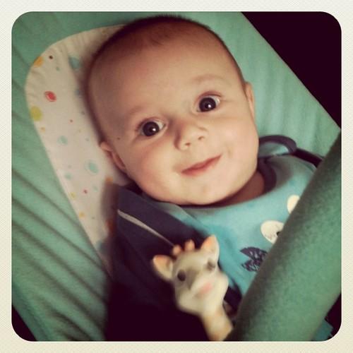 Cheeky boy :)