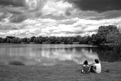(Donato Buccella / sibemolle) Tags: summer blackandwhite bw italy milan clouds nuvole milano bucolico parcodellecave sibemolle mg6116