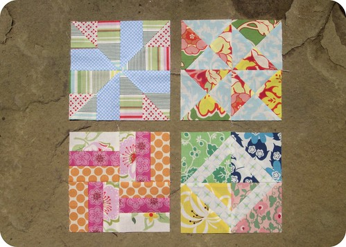 Farmer's Wife Sampler Blocks - week 5 & 6