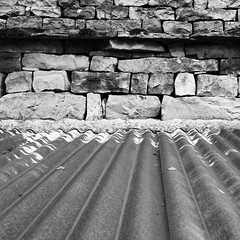 Barn roof (tina negus) Tags: roof barn blackwhite yorkshire dales wensleydale tectures countersett