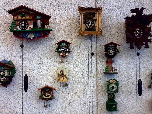 cuckoo clock booth